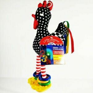 Eden toy rooster baby sensory developmental toy